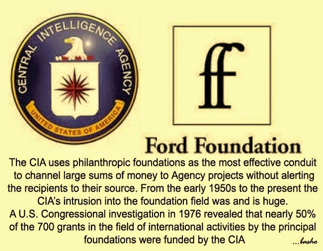 Rebel Spirit: CIA, Ford Foundation, India and the world