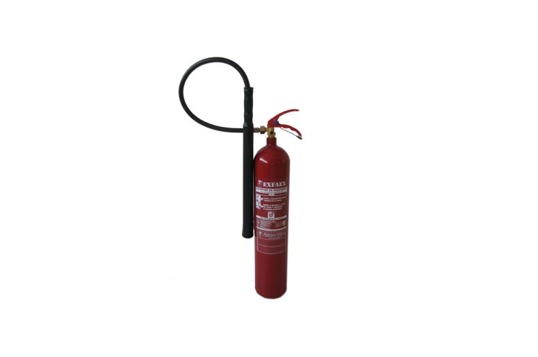 Fuegos electricos, Extintores, CO2