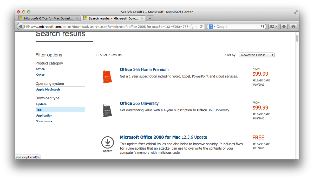 mac Microsoft Office 2008 install with Lion | Work