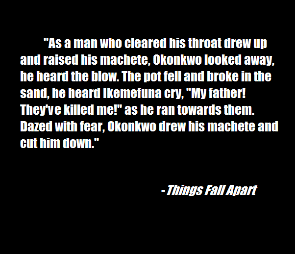 Thelovelynerd: Things Fall Apart By Chinua Achebe