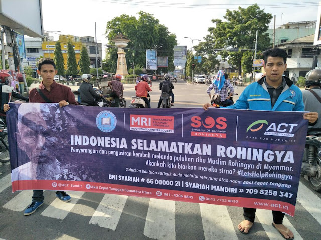 Peduli Rohingya, Ikatan Masyarakat Muslim Indonesia Lakukan Penggalangan Dana