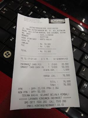 Belanja Di Alfamart Menggunakan Indomaret Card 2