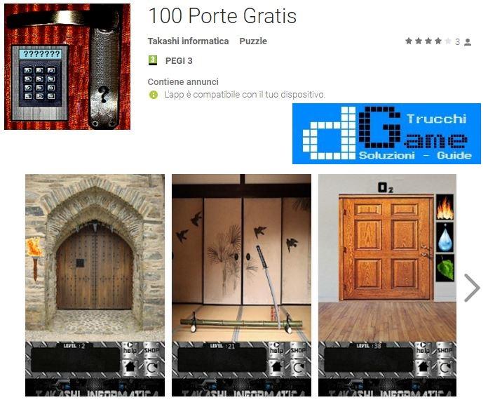 Soluzioni 100 Porte Gratis