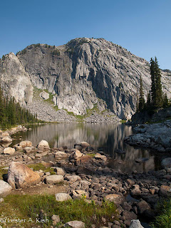 Ouzel Lake, Beartooth Mountains, Montana