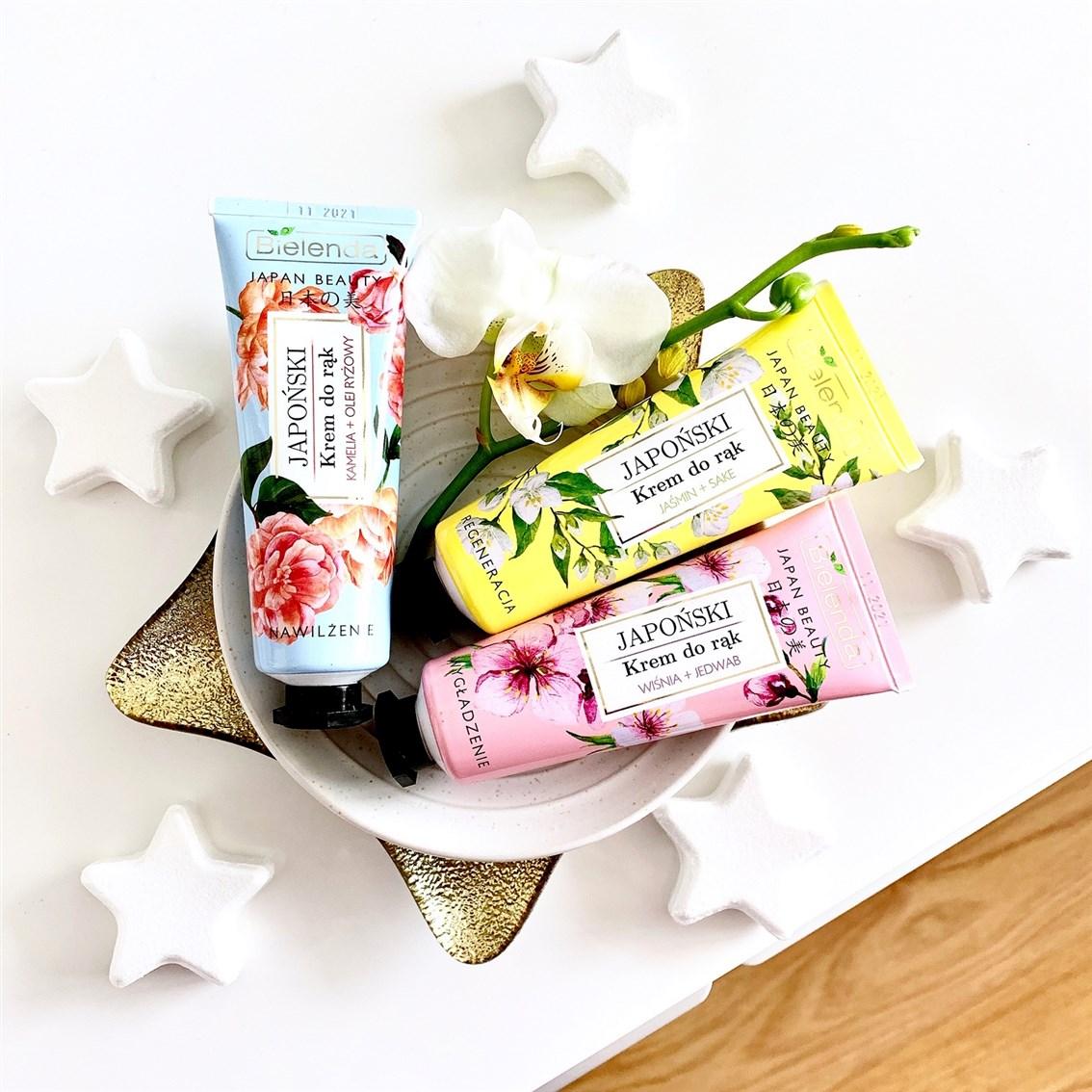 Bielenda Japan Beauty japońskie kremy do rąk