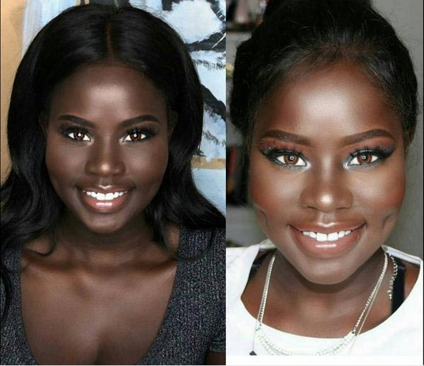 Photos of very beautiful dark girl make rounds on the Internet
