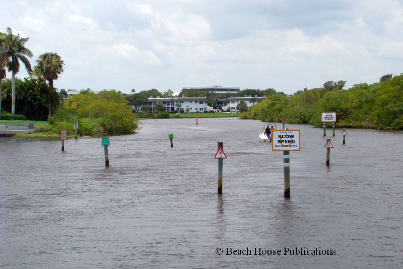 Marker  Jacksonville Beach Florida
