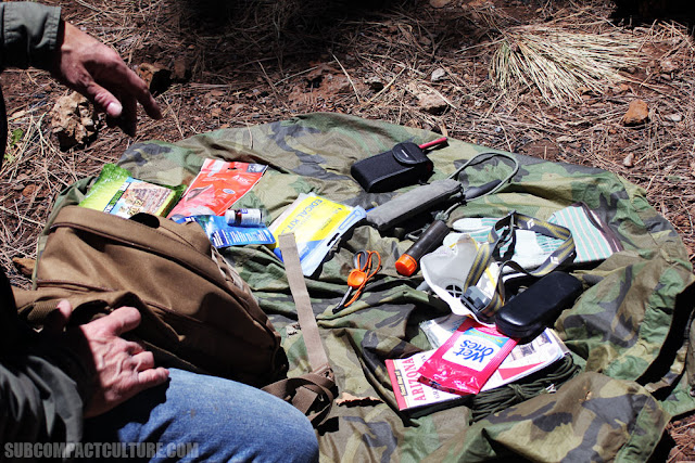 Urban Bug Out Bag Contents