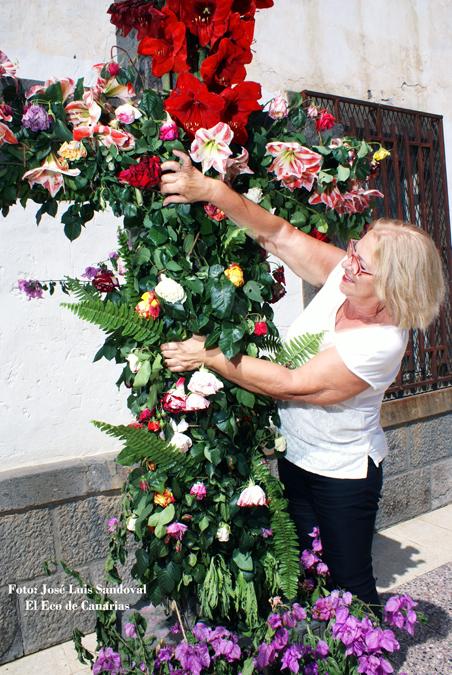 Cruz de Mayo emotiva en Bañaderos, Arucas
