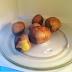 Mikrodalgada patates haslama (susuz)