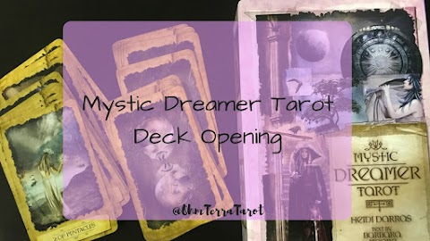 Mystic Dreamer Tarot Deck Opening and Deck Interview