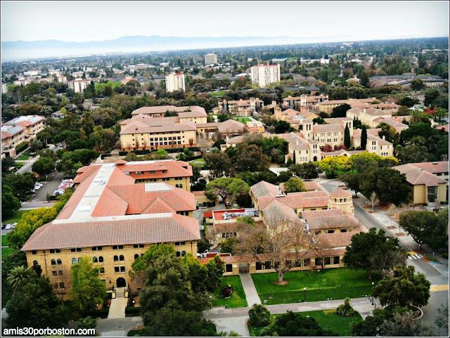 Vistas Observatorio Hoover Tower, Palo Alto, Universidad de Stanford