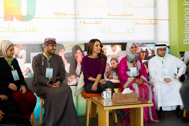 Success stories of 14 young entrepreneurs from different countries, including Jordan, Algeria, Bahrain, Egypt, Saudi Arabia, Kuwait, Lebanon, Morocco, Palestine, Qatar, Yemen and Oman during the event,