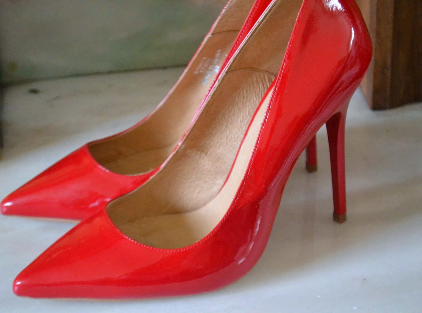 These Red Patent Heels From Office Are The Perfect Height For My Wedding Day And Feel Really Comfy To Wear They Look Simple Yet Glamorous
