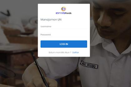 Juknis Emis Manajemen Ujian Nasional (E-Manja) Tahun 2019