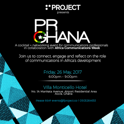 PR Ghana Networking Event In Collaboration With Africa Communications Week