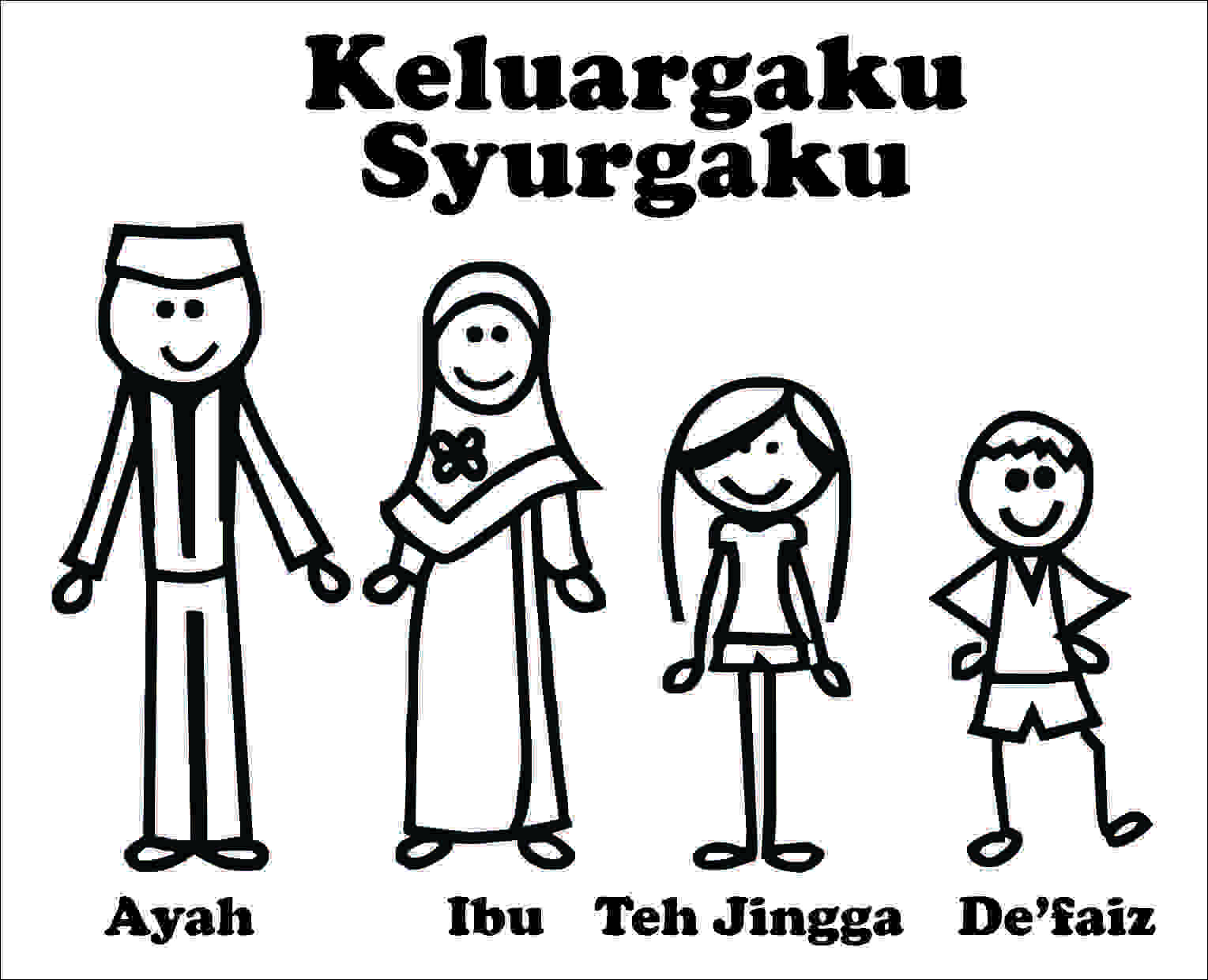 Settingsigner Cutting Sticker Family