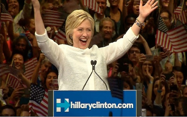 [Video] Hillary Clinton Becomes First Female Nominee of Major U.S. Political Party