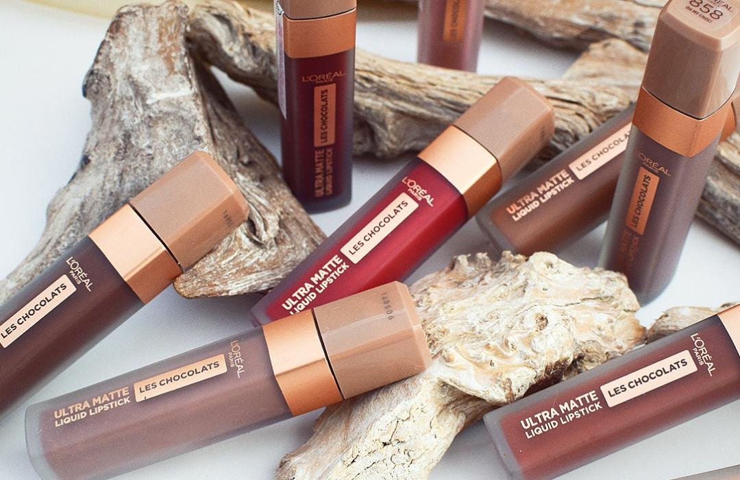Wie haltbar sind die neuen Les Chocolats Lippenstifte von L'Oréal Paris