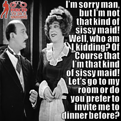That kind of Sissy Maid TG Caption - TG Captions and more - Crossdressing and Sissy Tales and Captioned images