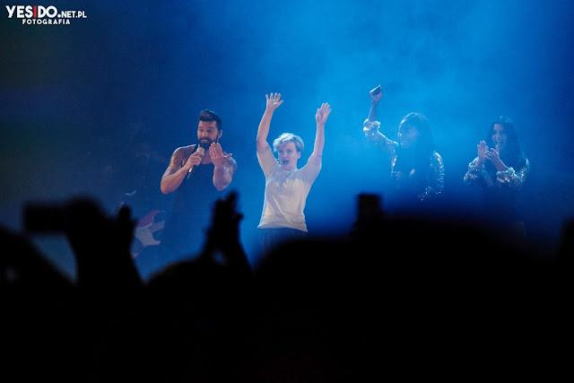 Niespodzianka na koncercie Ricky'ego Martina w Polsce