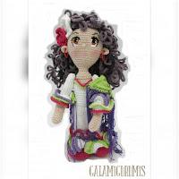 http://amigurumislandia.blogspot.com.ar/2019/05/amigurumi-flamenca-galamigurumis.html