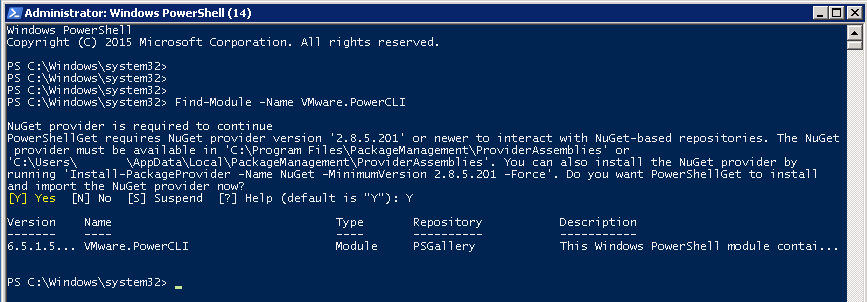VMware PowerCLI 6.5.1 - New Release Installation