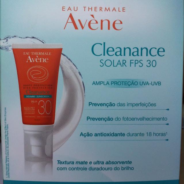 Protetor Solar FPS30 Cleanance - Avène
