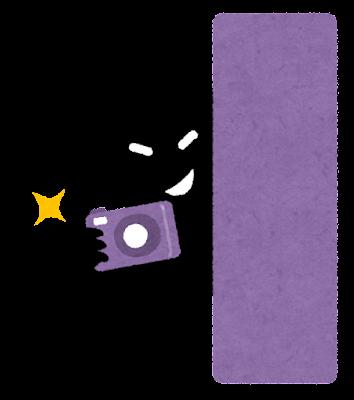 盗撮のイラスト(カメラ)