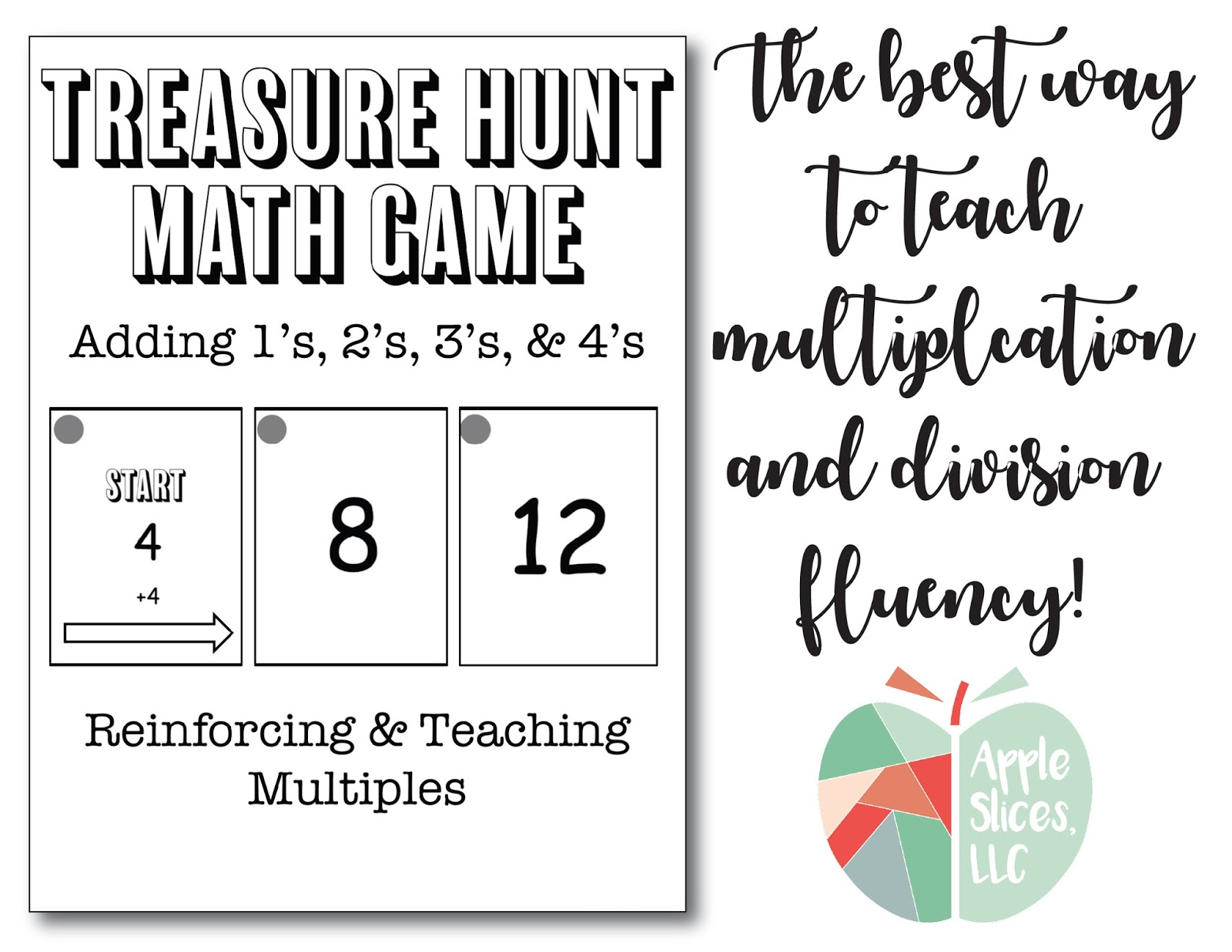 AppleSlices: Treasure Hunt Math Game