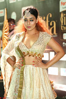 Apoorva Spicy Pics in Cream Deep Neck Choli Ghagra WOW at IIFA Utsavam Awards 2017 119.JPG