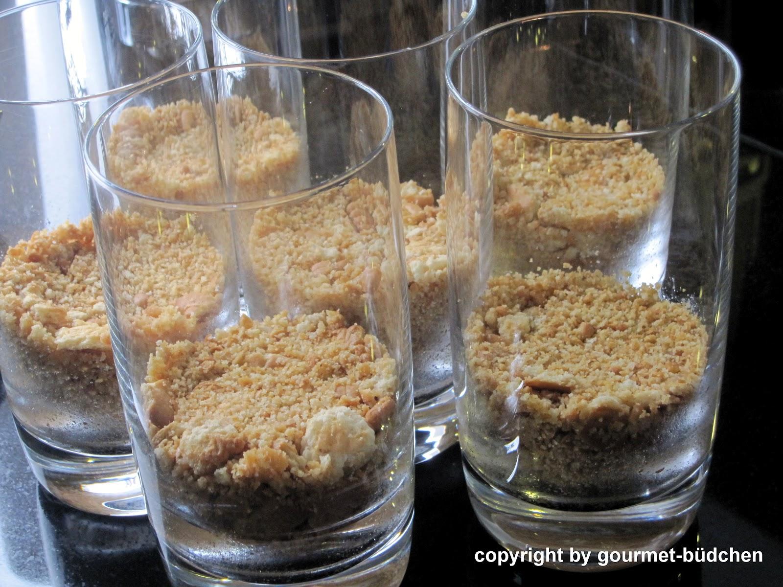 ananas schicht dessert im glas — rezepte suchen