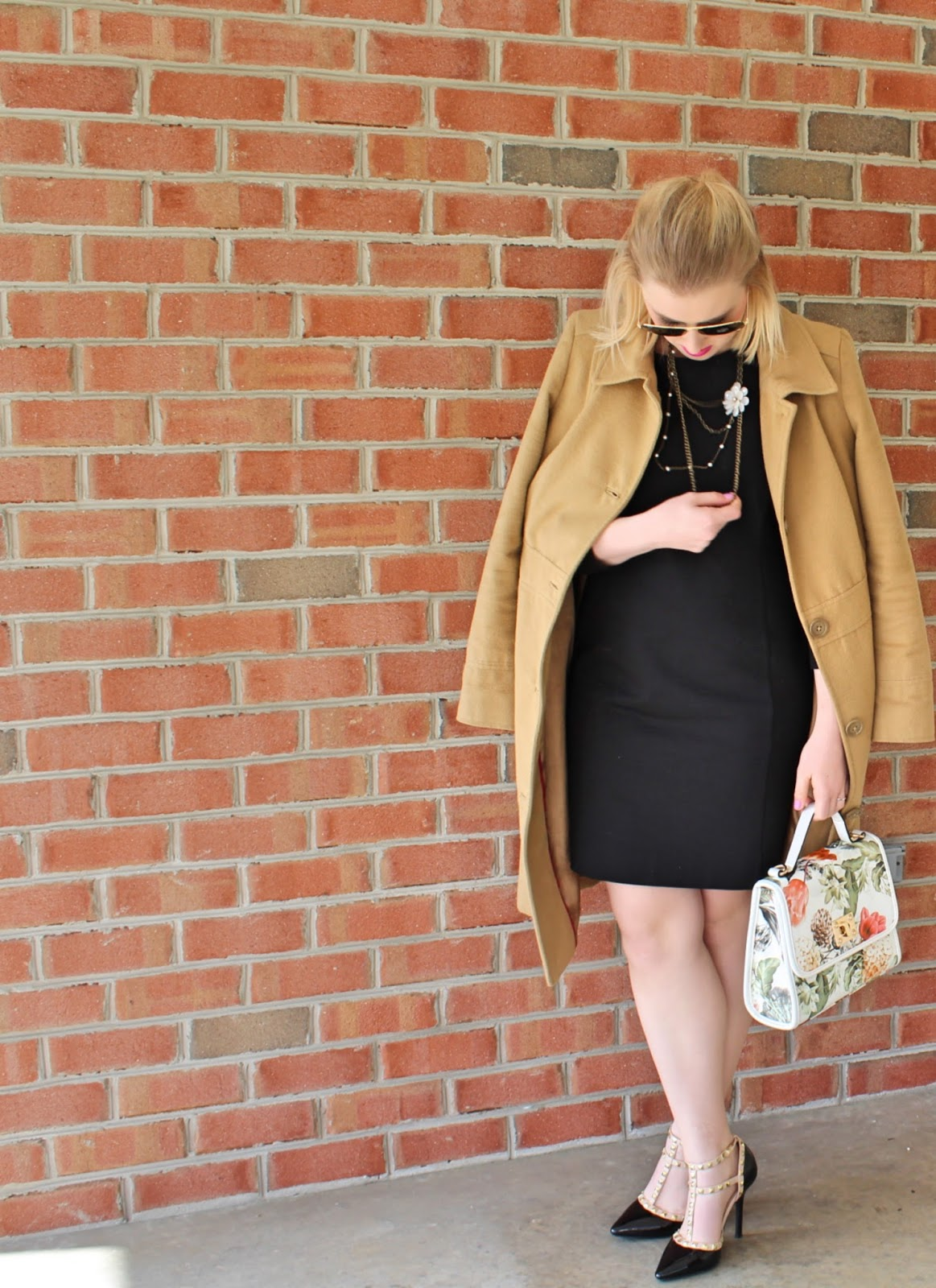 Spring Transition with the Camel Coat