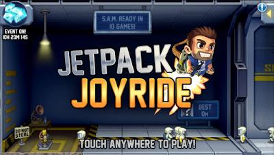 Jetpack Joyride Mod Apk Terbaru a lot of money