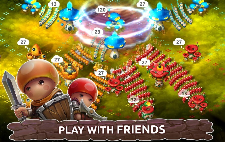 Download mushroom wars 2 free to play for Android