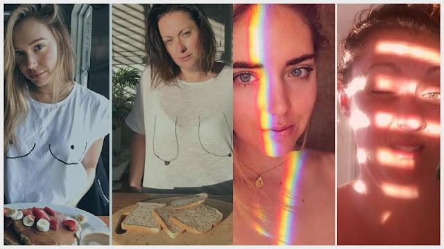 Mulher recria fotos de celebridades do instagram e o resultado e maravilhoso.