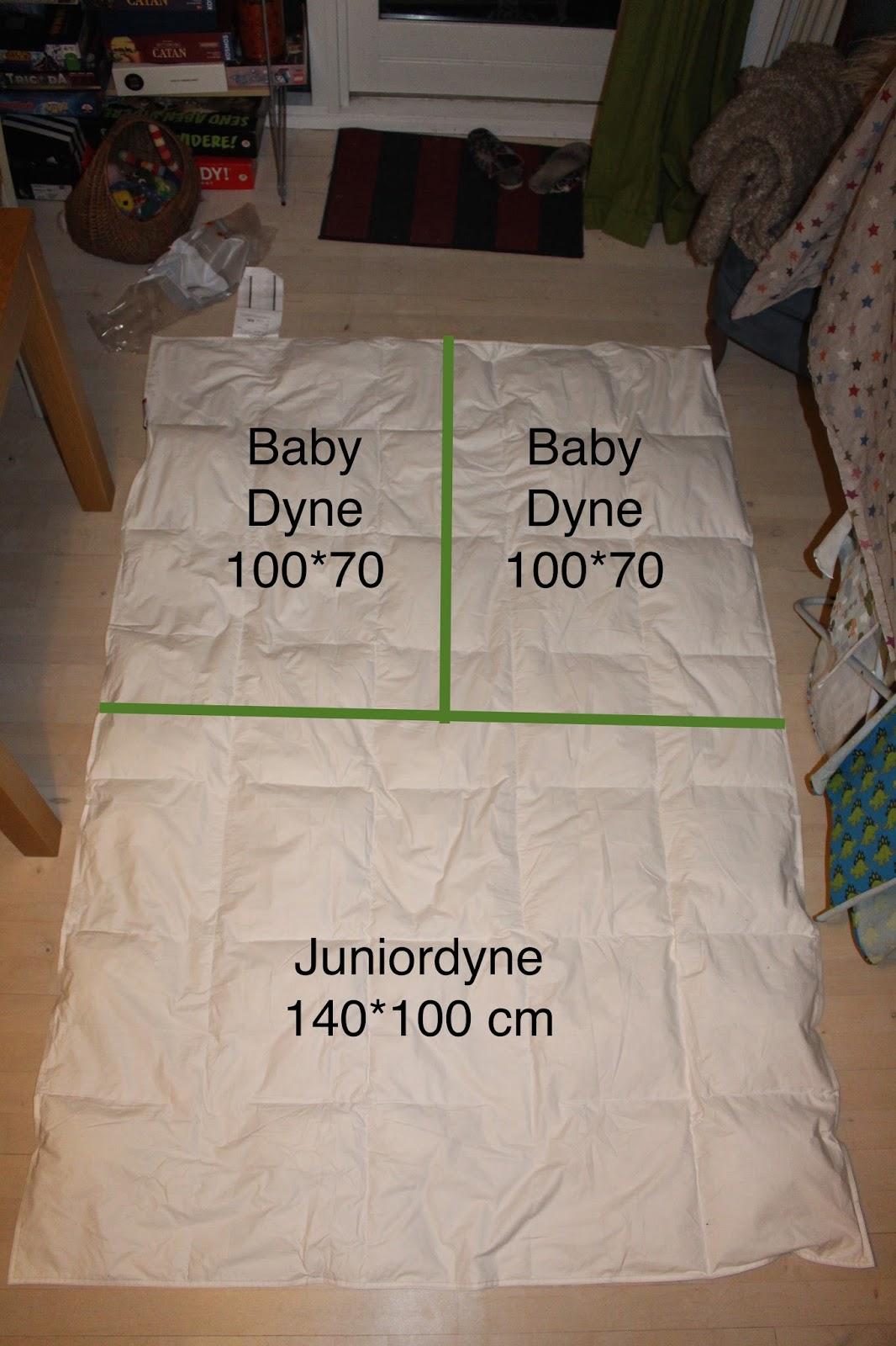 juniordyne mål Kreaposen: Billig babydyne DIY juniordyne mål