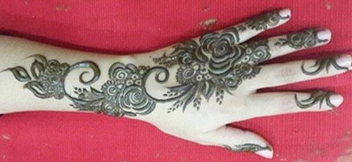New Stylish Khaleeji Arabic Henna Mehndi Patterns For Full Hands
