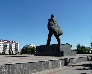 Пінськ. Площа Леніна