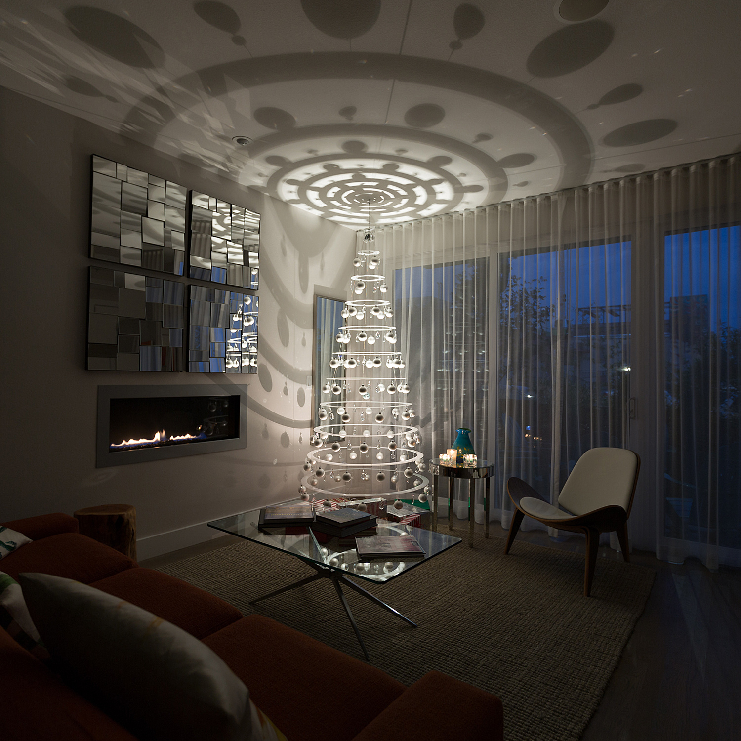 Fiorito Interior Design: The Modern Christmas Tree