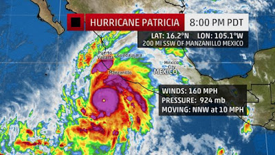 180 Days In Mexico Hurricane Patricia
