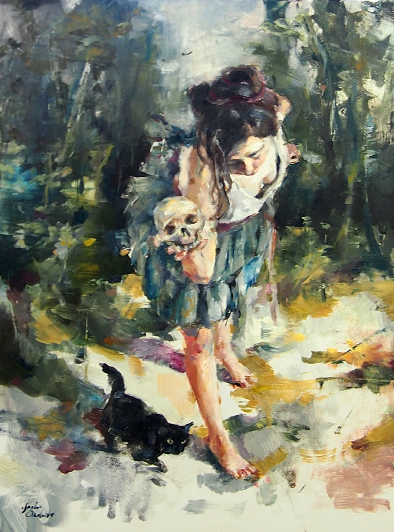 Figurative Paintings by Jaclyn Alderete from America.