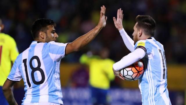 Argentina vs Ekuador