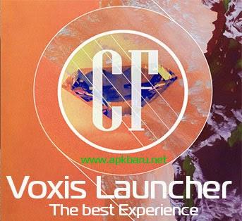 Voxis Launcher v0.23 Apk Terbaru