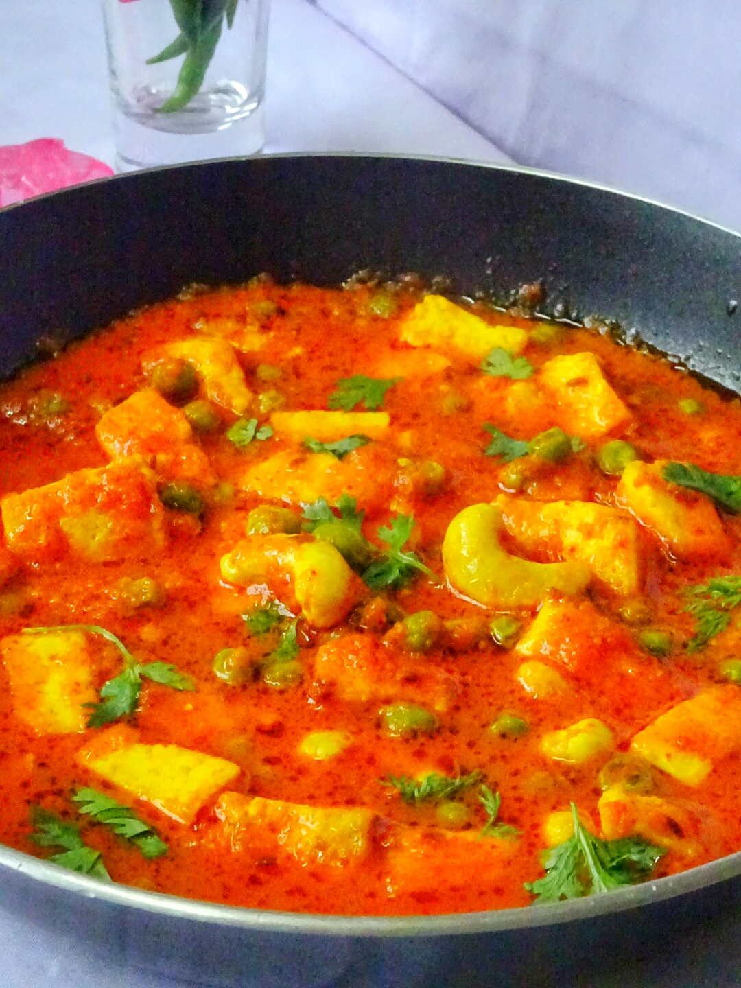 Veg indian cooking matar paneer recipe how to make matar paneer peas and cottage cheese in tomato gravy easy quick mutter paneer recipe no onion no garlic matar paneer recipe forumfinder Choice Image