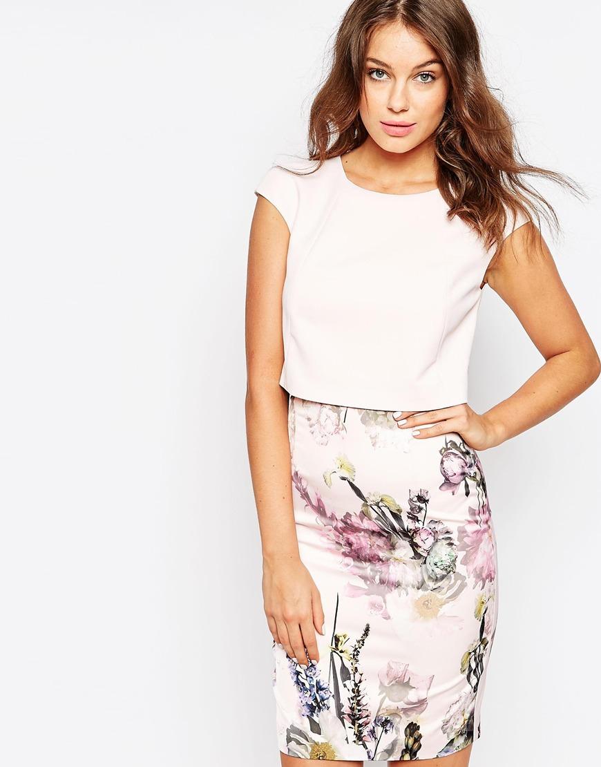 Fashion For Linda Ted Baker Moline Torchlit Floral Layer