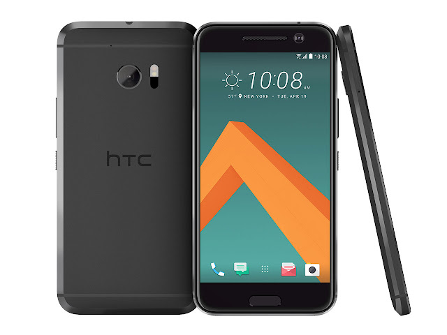 HTC 10 android phone sculpted to perfection
