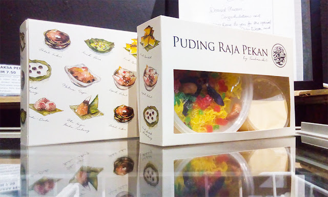 packaging Puding Raja Pekan - Food market