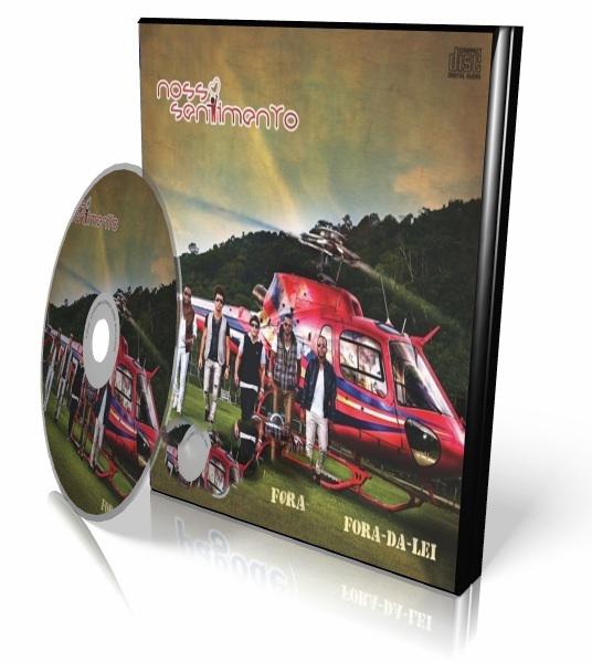 DVD Nosso Sentimento - Fora Da Lei (2012)
