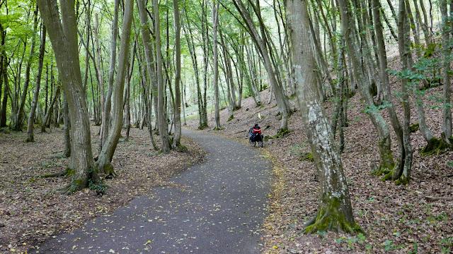 Randonnée à vélo : voie verte d'Evreux